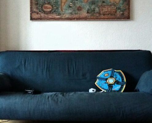 Auf dem Sofa Der bestmögliche Tag
